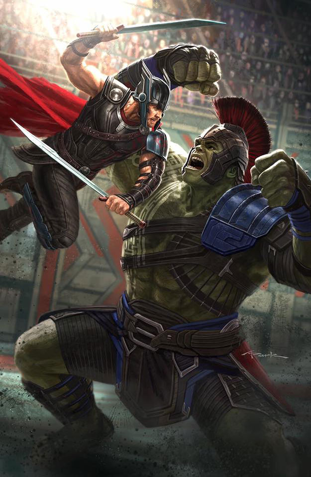 Concept art de Thor: Ragnarok