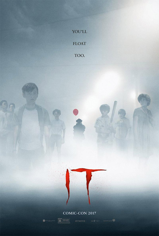 Nuevo cartel de It para la Comic-Con 2017