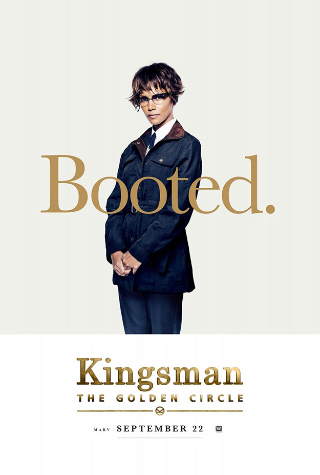 Nuevo cartel de Kingsman: El círculo de oro