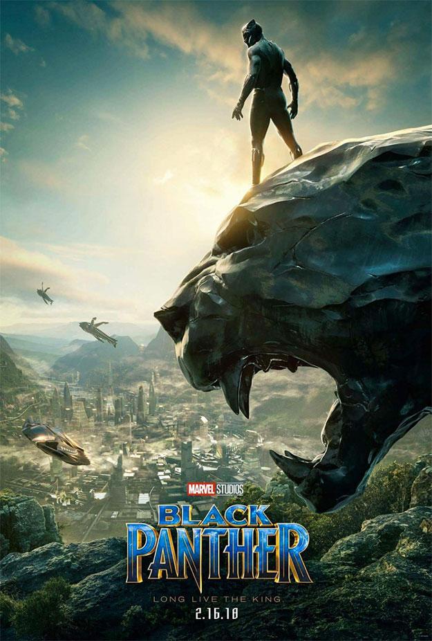El nuevo cartel de Black Panther espuro Wakanda