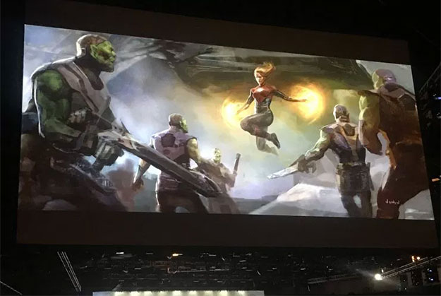 Concept art de Captain Marvel