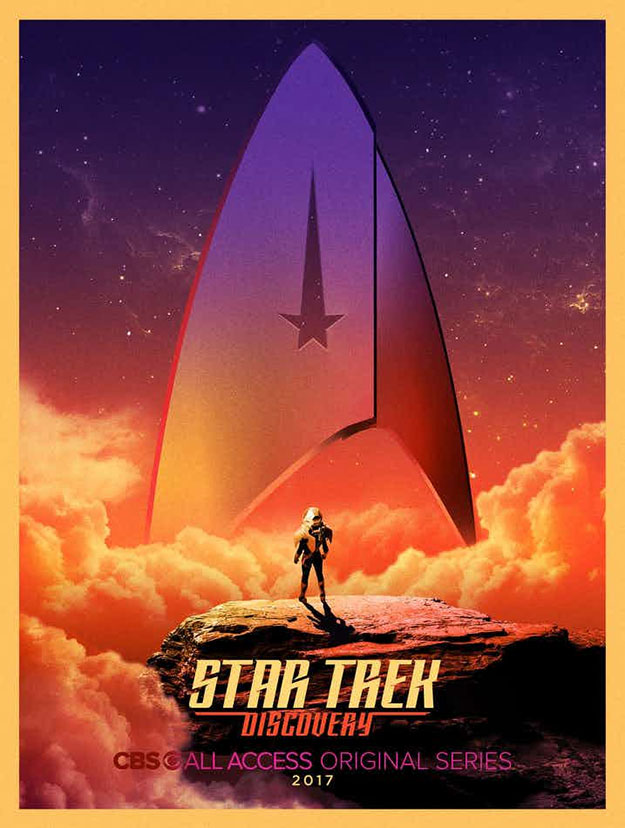 "Cartel Comic-Con 2017 de ""Star Trek: Discovery"""