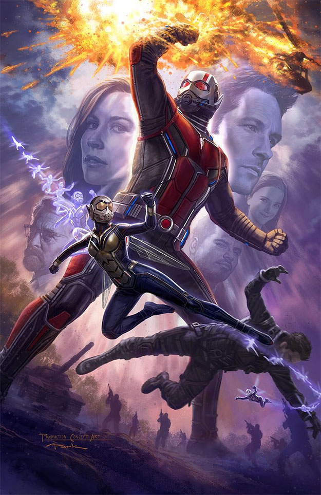 Genial concept art de Ant-Man and the Wasp