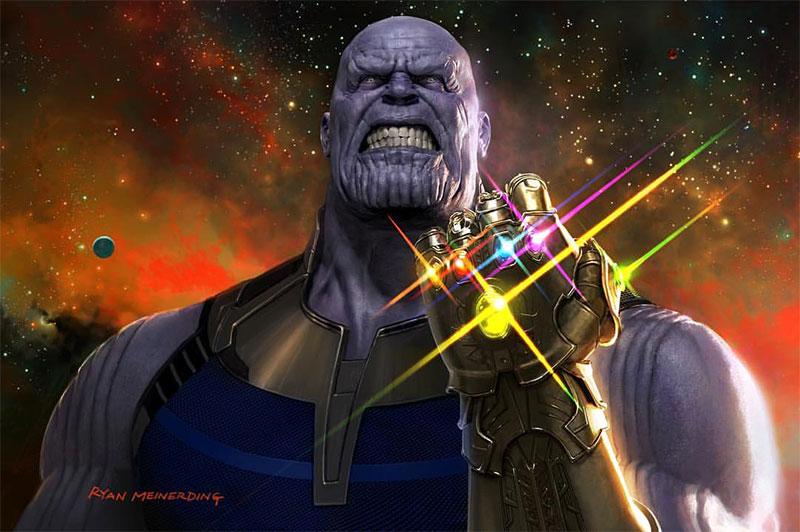 Pulsad para disfrutar de Thanos y el Guantelete del Infinito