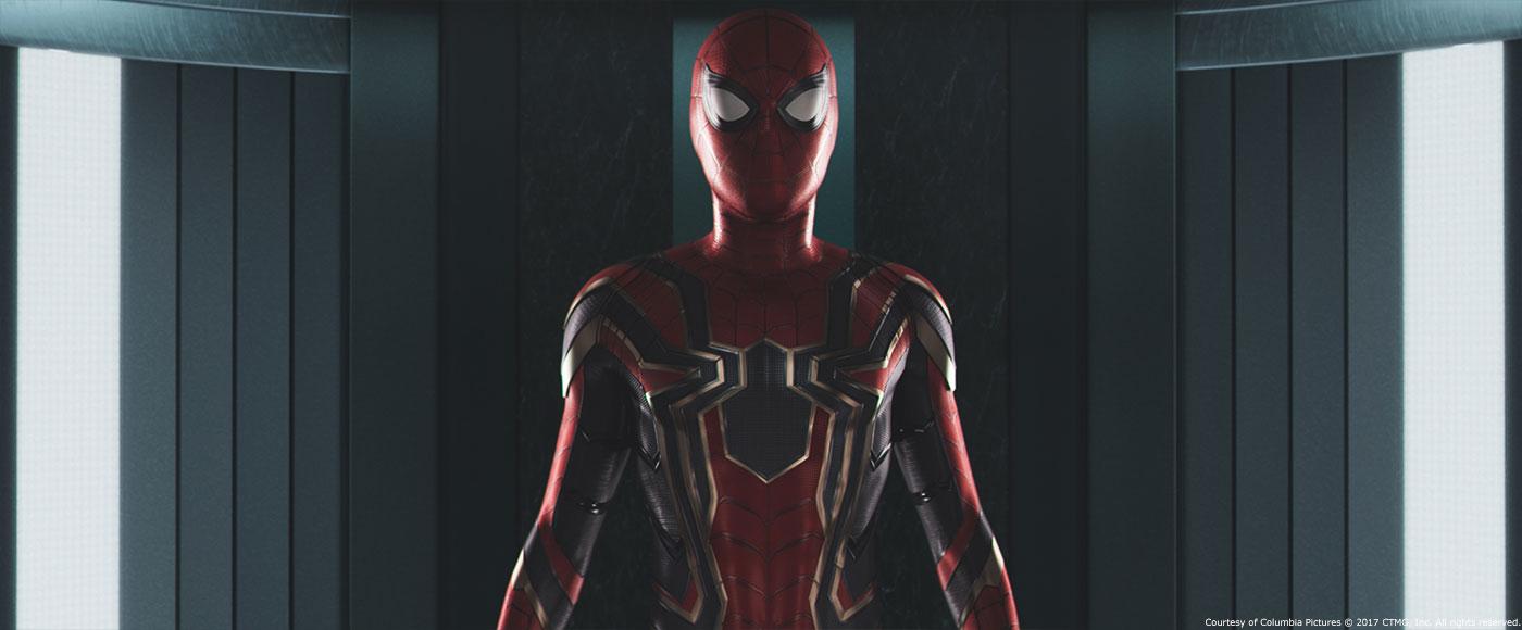 Puede que el traje de Spider-Man en Vengadores: La Guerra del Infinito