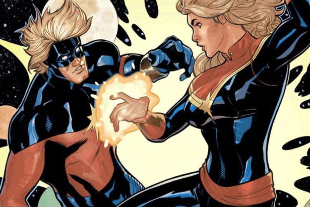 ¿Mar-vell y la Capitán Marvel compartiendo pantalla?