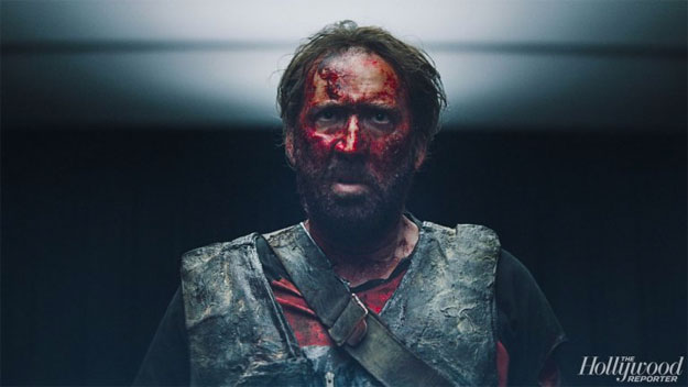 Nicolas Cage en modo bloody face en Mandy... a matar se ha dicho