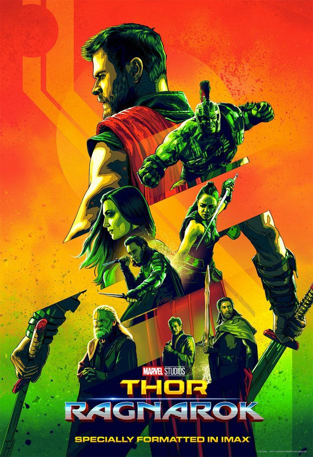 De nuevo de Rojo a Verde, transición de color para Thor: Ragnarok