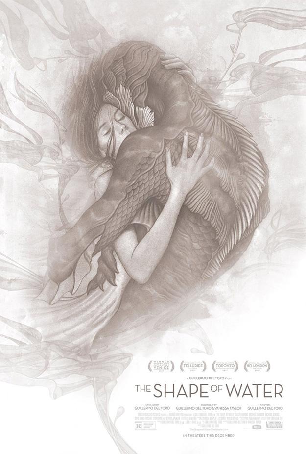 El nuevo cartel de La Forma del Agua de Guillermo del Toro