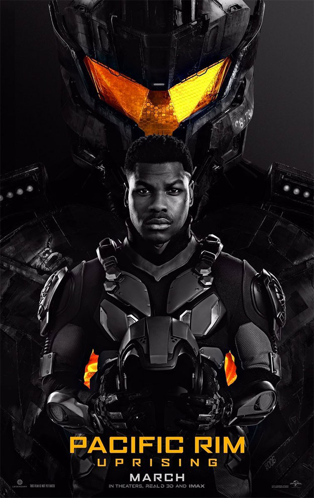 El primer cartel de Pacific Rim: Uprising es totalmente Apollo Creed