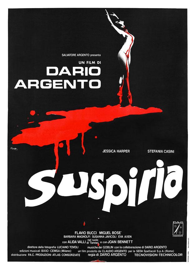 Cartel de Suspiria de Dario Argento
