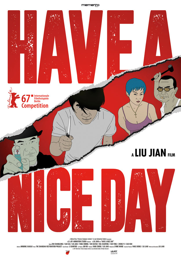 Cartel de Have a Nice Day