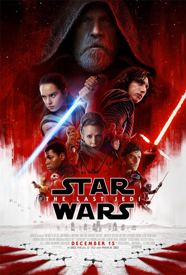 Cartel final de Star Wars: Los Últimos Jedi