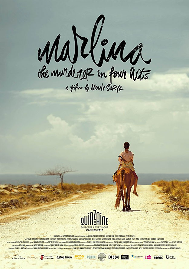 Cartel de Marlina the Murderer in Four Acts