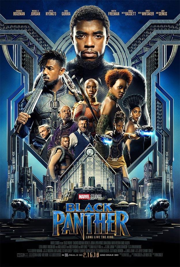 Otro trailer, comienza la ración de montaje fotográfico, de Black Panther