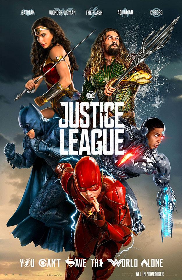 El nuevo cartel de Liga de la Justicia