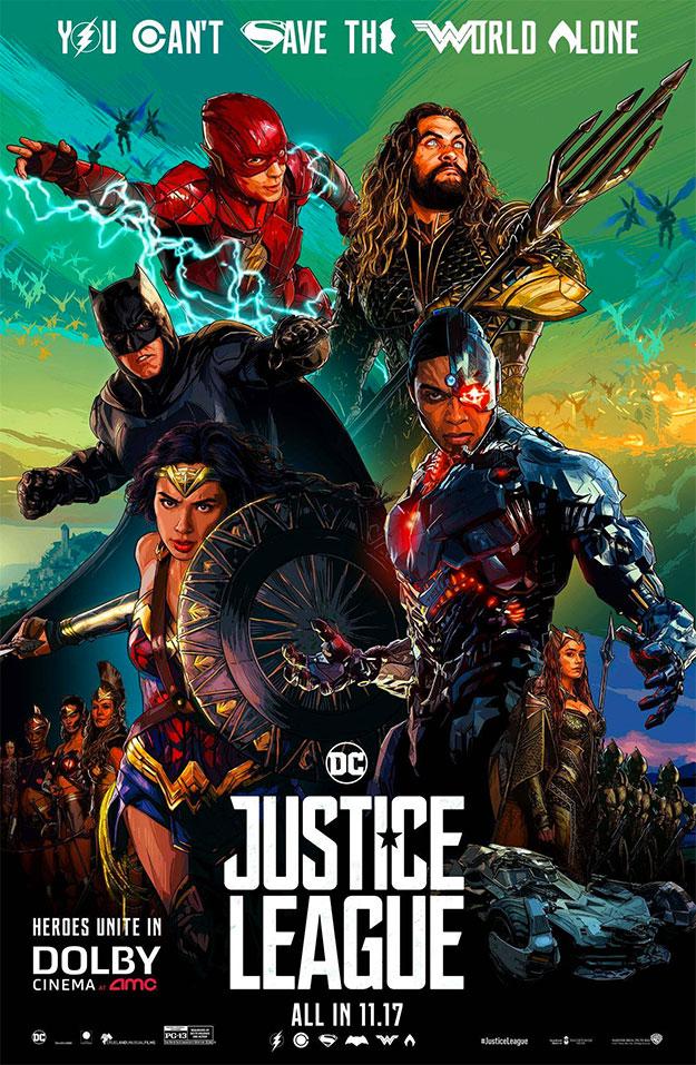 El tercer genial cartel de Liga de la Justicia