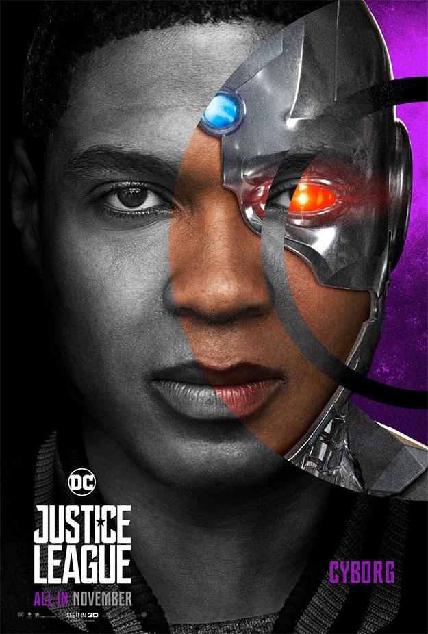 Cyborg en Liga de la Justicia