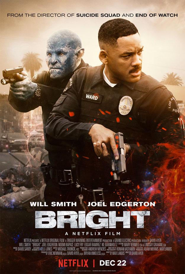 El nuevo cartel de Bright de David Ayer