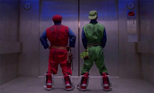 Mario y Luigi AKA Bob Hoskins y John Leguizamo