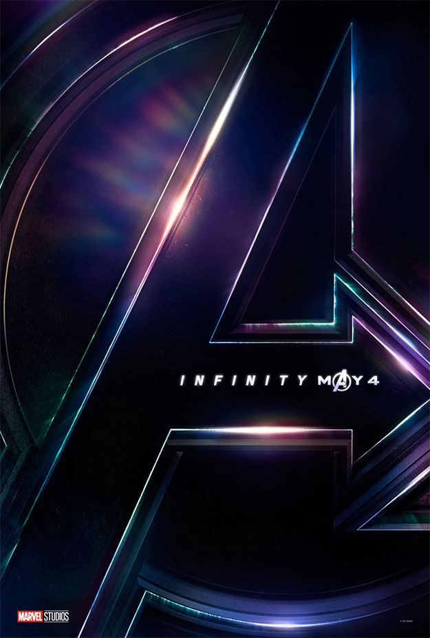 El primer cartel de Vengadores: Infinity War visto ayer
