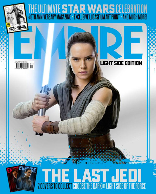 Cuatro portadas de Empire para Star Wars: Los Últimos Jedi