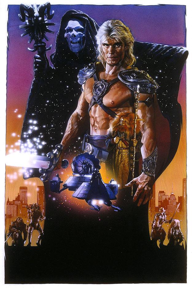 Con el 30 aniversario de su estreno a la vuelta de la esquina el impresionante cartel de Drew Struzan para los Masters del Universo de la Cannon Group