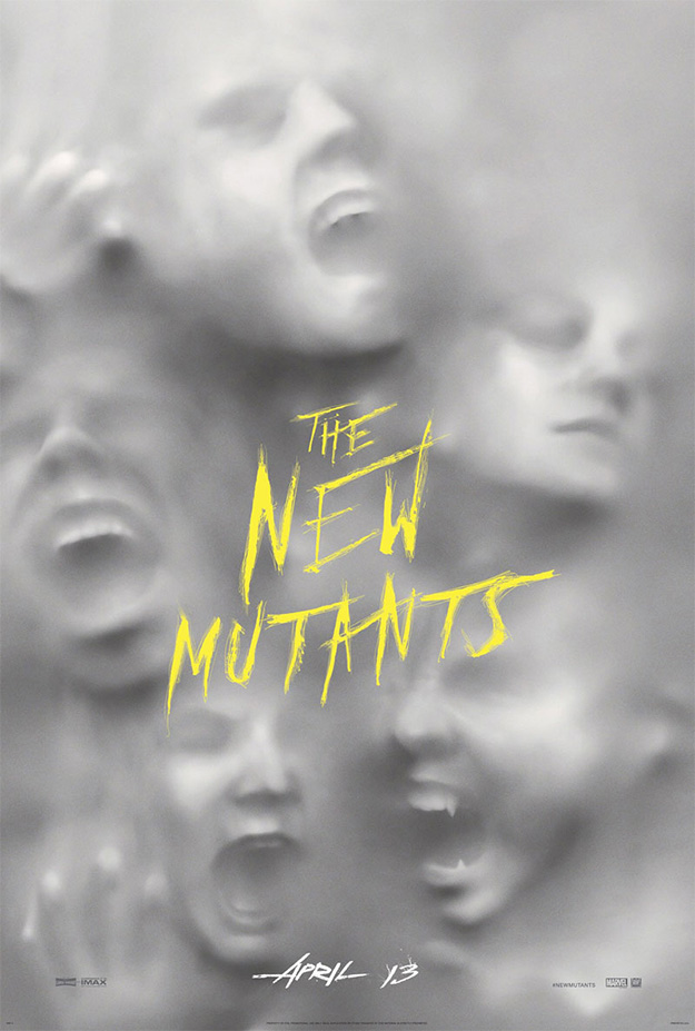 El primer cartel de The New Mutants es tan... tan... tan... ¿básico?
