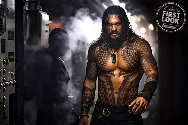 La primera imagen oficial de Aquaman es tan poco sorprendente...