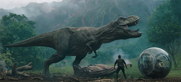 ¿Dominarán de nuevo la tierra los dinosaurios? Habrá que ver Jurassic World: Fallen Kingdom