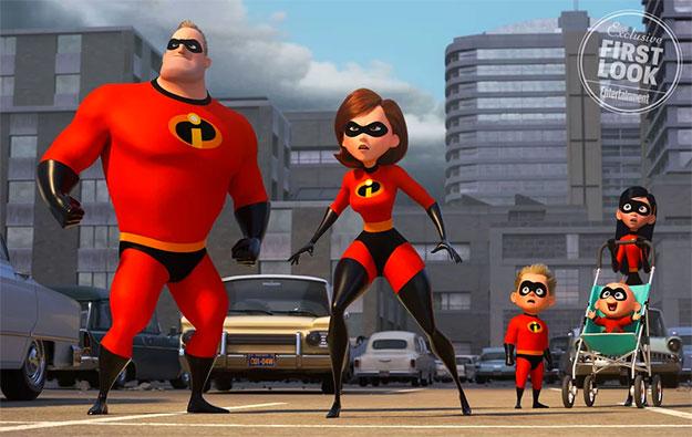 Primera imagen, continuación directa, de The Incredibles 2