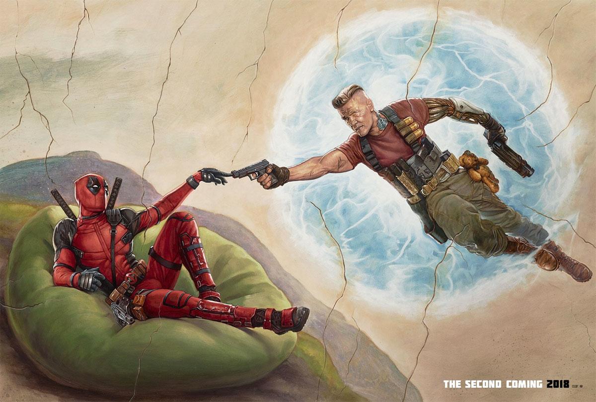 Genial nuevo cartel de Deadpool 2... por ahora