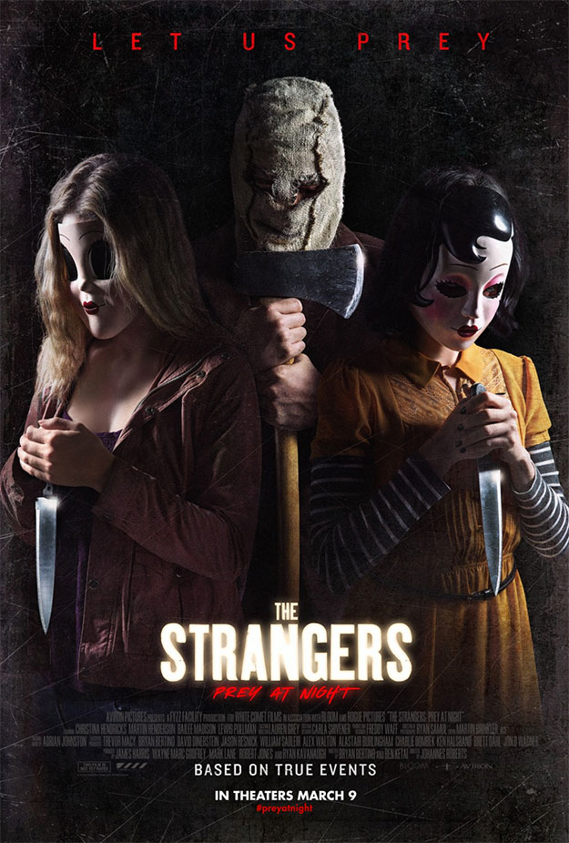 Un nuevo póster, molón, de The Strangers: Prey at Night