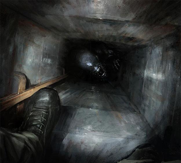 Un nuevo concept art de la fallecida Alien: Xenomorph