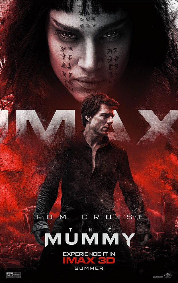 Un nuevo cartel IMAX de La Momia