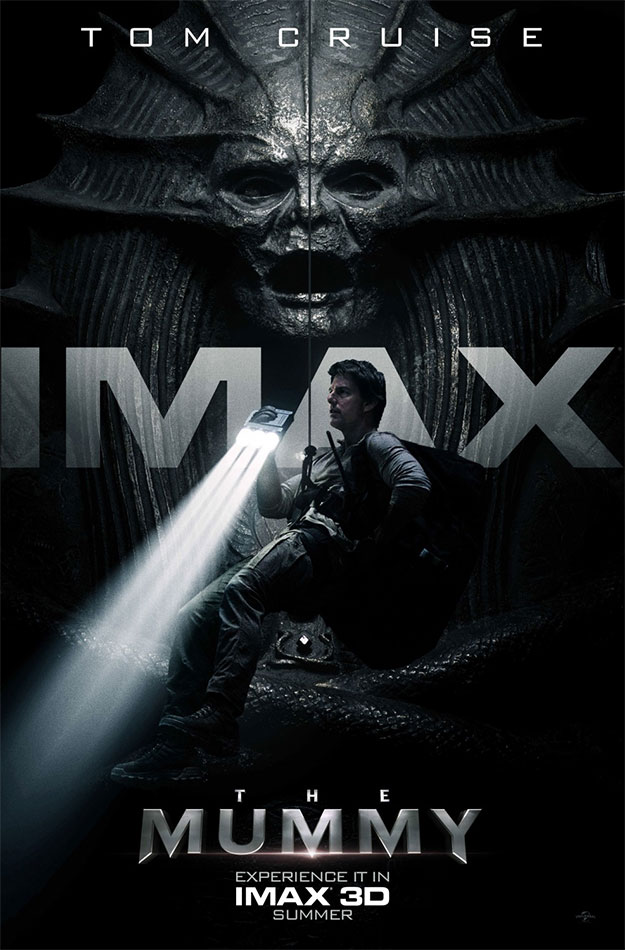 Otro nuevo cartel IMAX de La Momia