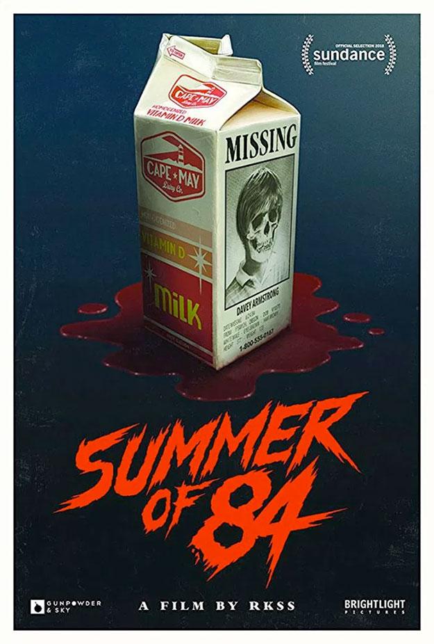 Otro muy molón cartel de Summer of 84