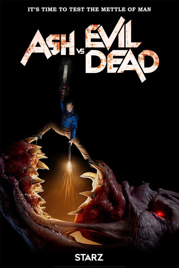 """Cartel de la tercera temporada de """"Ash vs Evil Dead"""""""