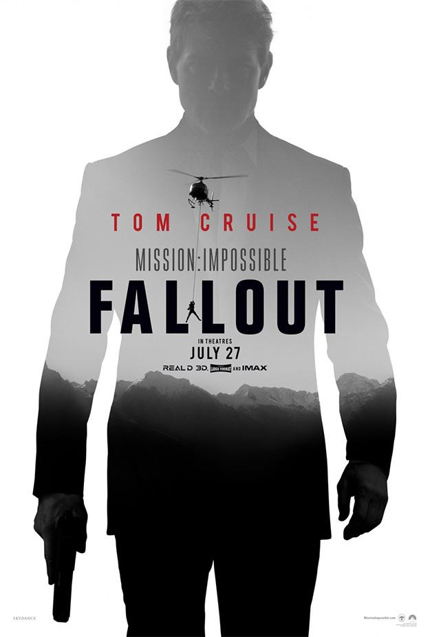 El primer póster de Mission: Impossible - Fallout
