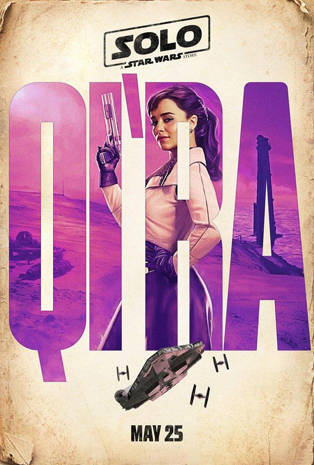 Emilia Clarke es Qi'Ra