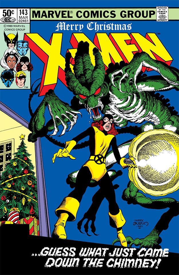 Portada de aquel Uncanny X-Men Vol 1 #143