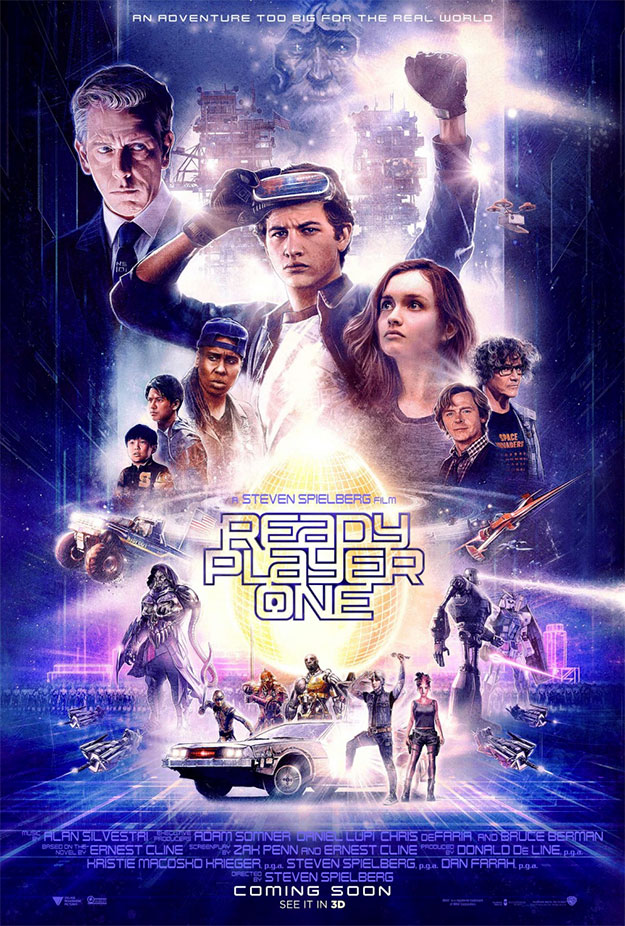 Uno de los cartel de Ready Player One