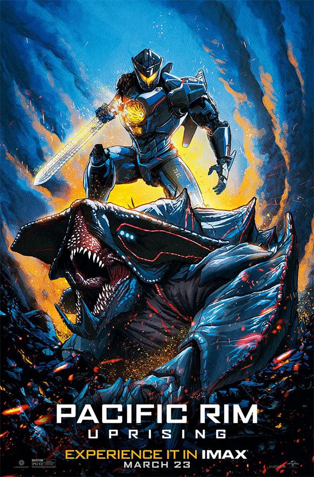 El nuevo cartel IMAX de Pacific Rim: insurrección
