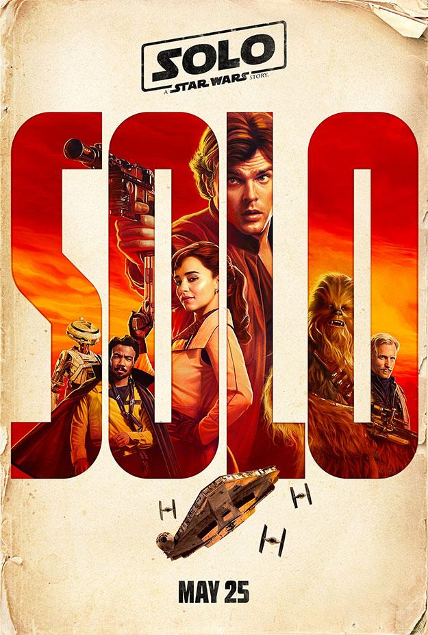 Otro cartel más de Han Solo: Una Historia de Star Wars