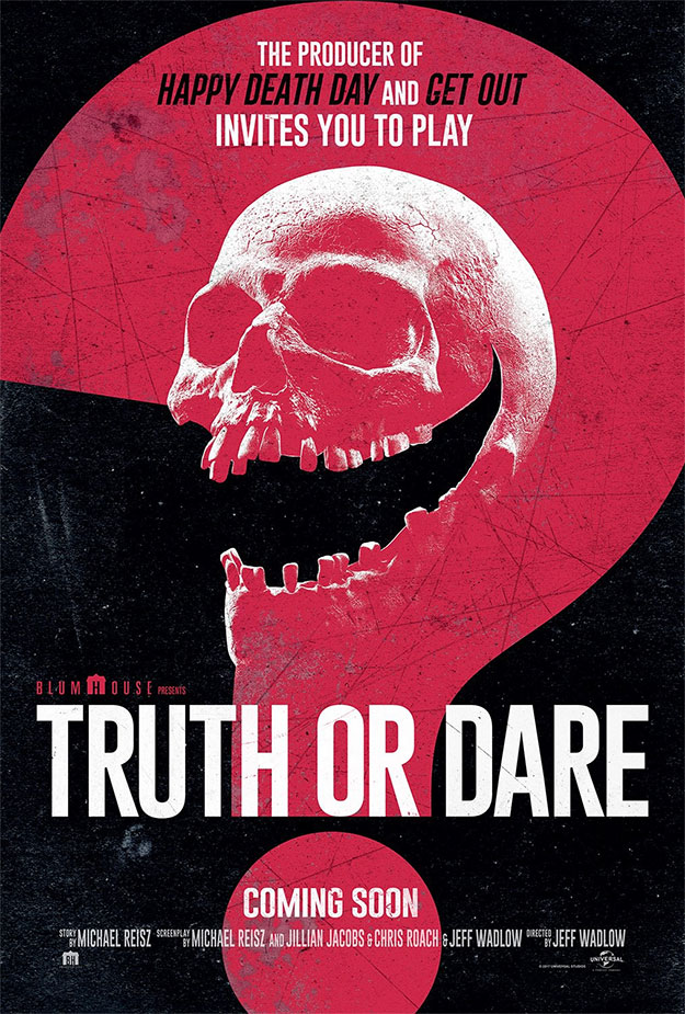 Cartel de Truth or Dare de Jeff Wadlow y Blumhouse