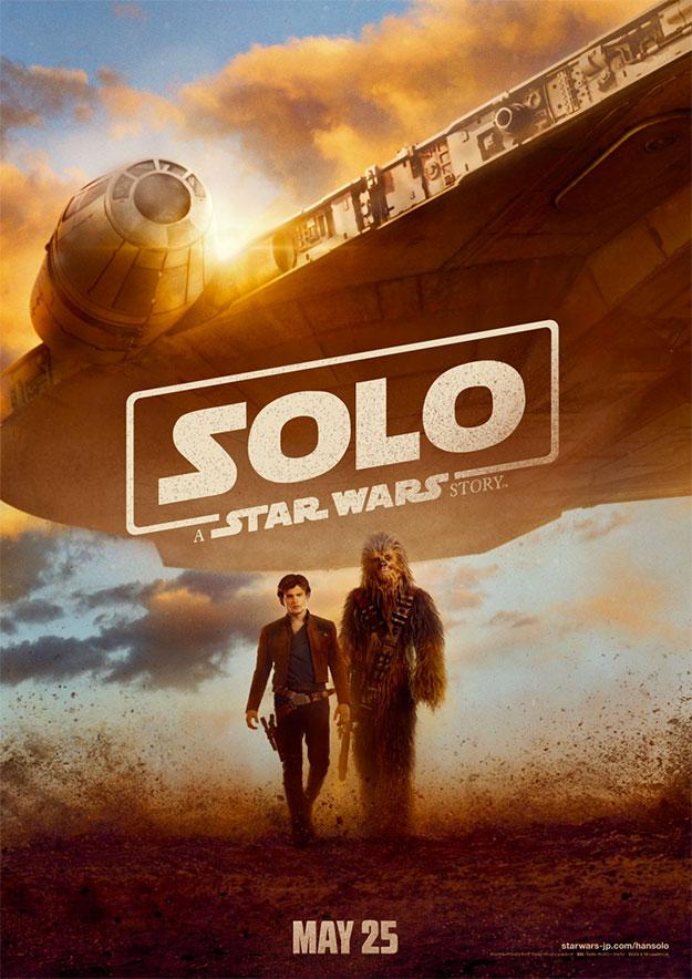 Un nuevo cartel de Han Solo: Una Historia de Star Wars