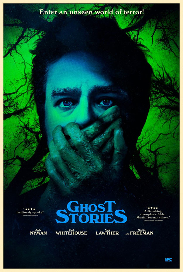 Tremendo cartel de Ghost Stories