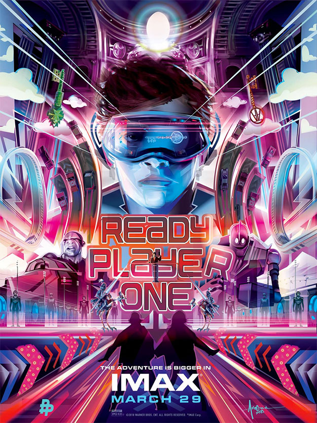 Cartel IMAX de Ready Player One