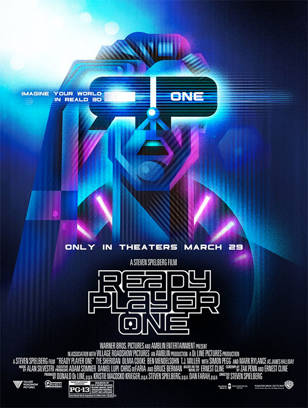 Otro cartel de Ready Player One