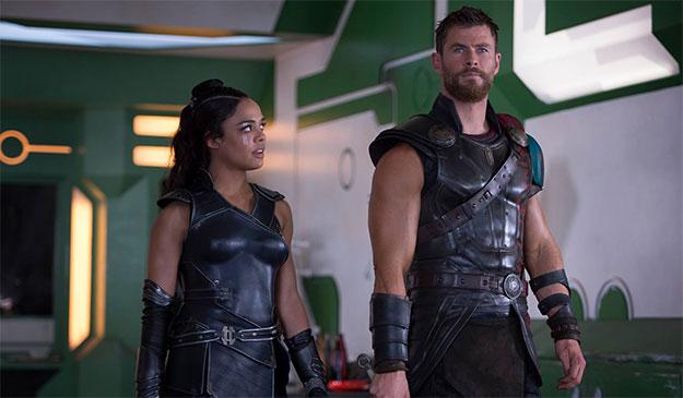 Valkyrie y Thor se juntarán otra vez en pantalla para combatir más aliens en el reboot de Men In Black